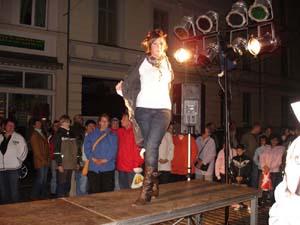 Modenschau Güstrower-Einkaufsnacht 2008